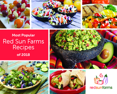 Most Popular Red Sun Farms Recipes of 2018!