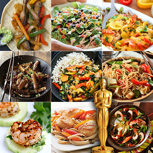 Oscar Worthy Party Recipes
