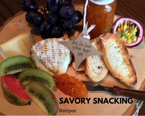 10 Savory Snacking Recipes