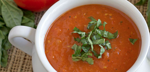 Tomato Roasted Red Pepper Soup